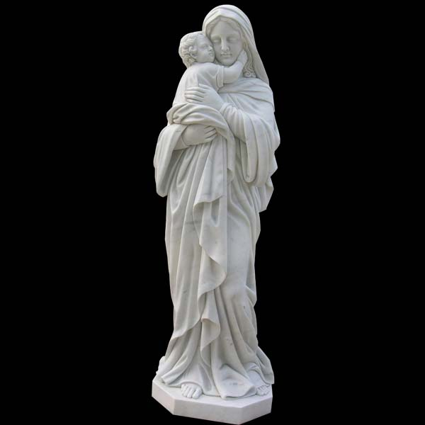 White madonna of the trail holy mother statue church Supply Warehouse
