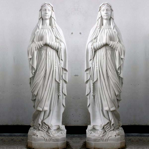Blessed mary our lady of lourdes garden statues outdoor for sale TCH-90