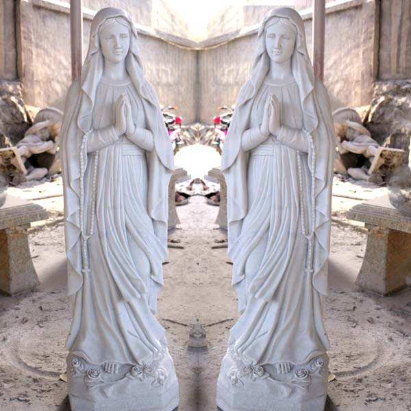 Catholic statues lady of lourdes garden statues for sale TCH-89