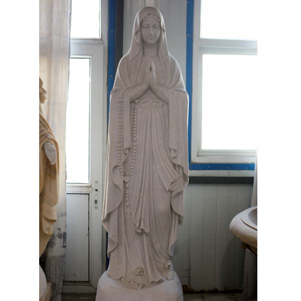 Blessed lourdes mary life size religious garden statues for sale TCH-94