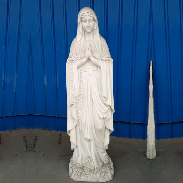 Mother mary our lady of lourdes rosary bead statues to buy TCH-95