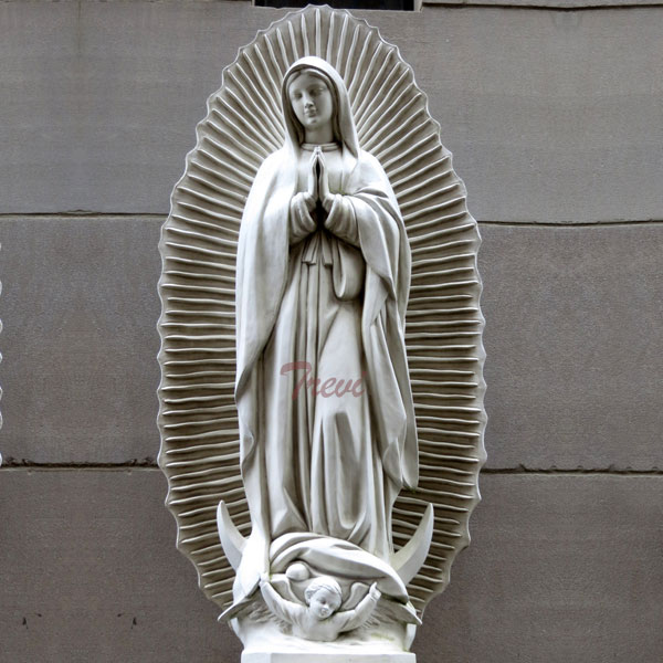Outdoor Virgen de guadalupe garden statue 36 inches to buy TCH-200
