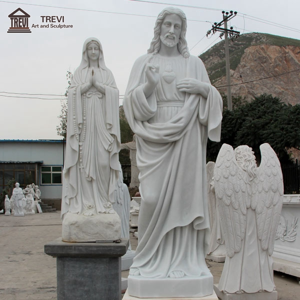 High Quality White Marble Jesus Sculpture for Sale CHS-736